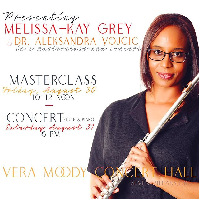 Celebrating our first event abroad. Melissa-Kay and pianist, Dr. Aleksandra Vojcic are heading to Kingston Jamaica in August. #jamaica #concert #masterclass #kingston #music #august #flute #piano #chamber #sevenpillars #jamaica🇯🇲