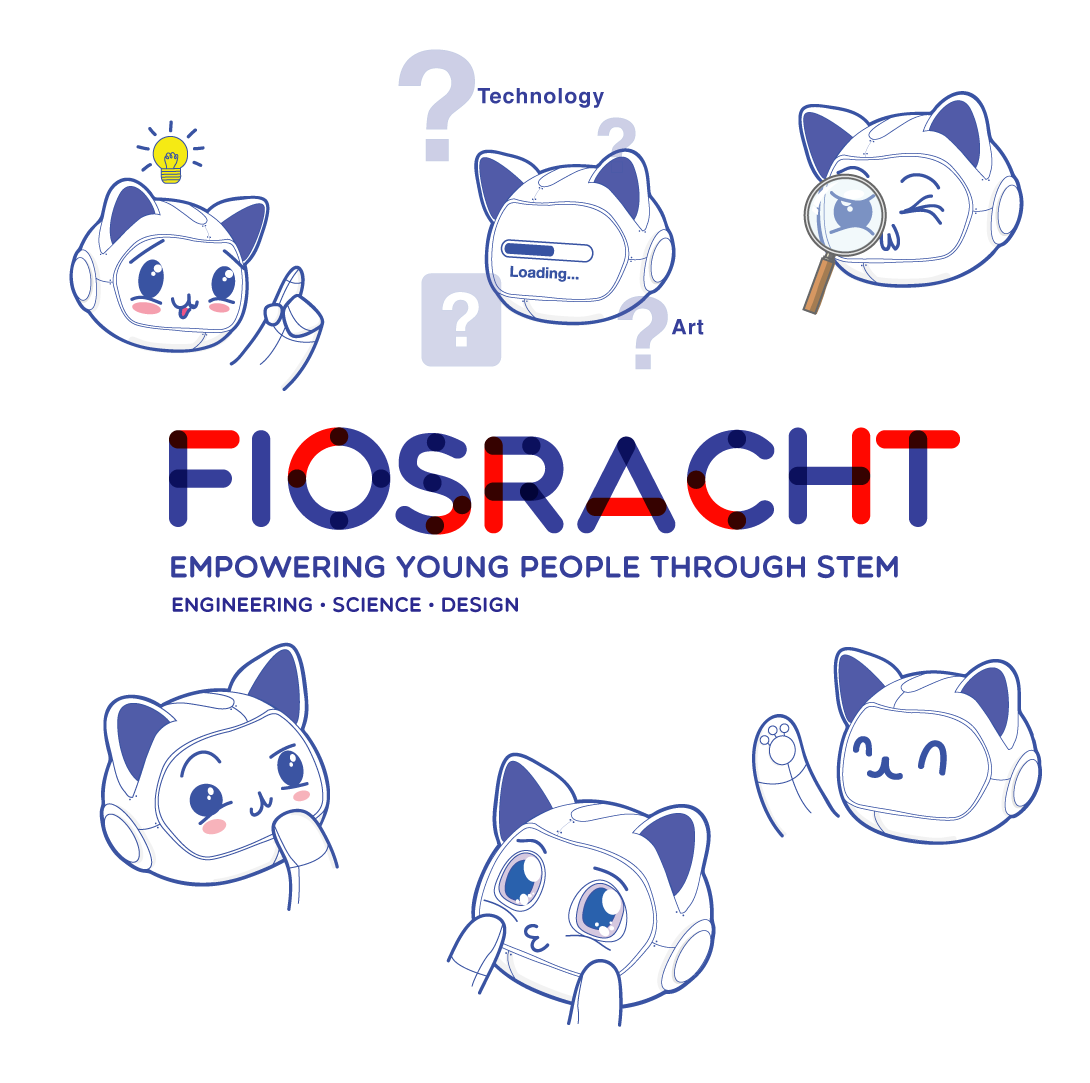 Fiosracht graphic identity.