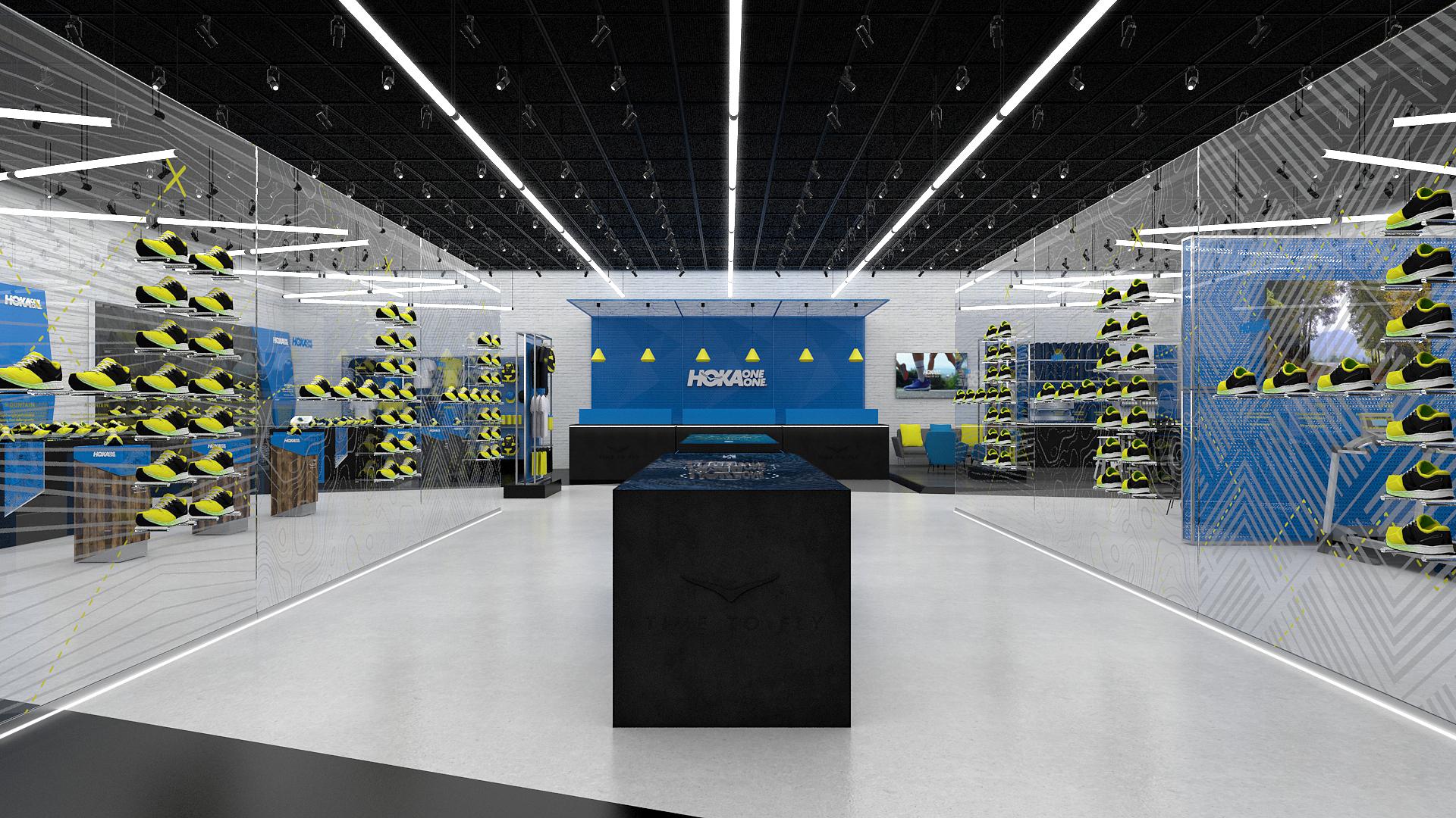 Hoka One One Flagship Store Concept