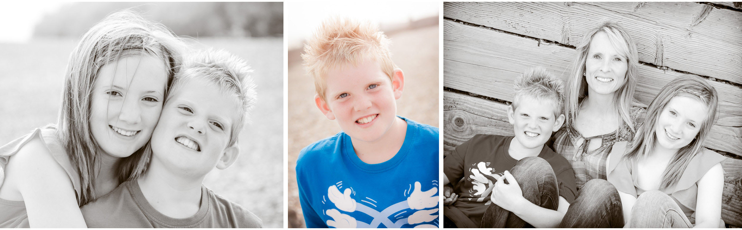 relaxed natural family portrait photography surrey