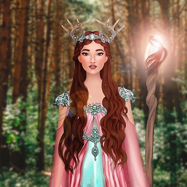 Leave room for magic! The first Fantasy Event has returned! You can still have an elf outfit and an enchanted pet 🦌 #trendystylistgame #gamergirl #fashion #style #mobilegame #fashionapp #ootd #fantasy #elf #deer #magic #