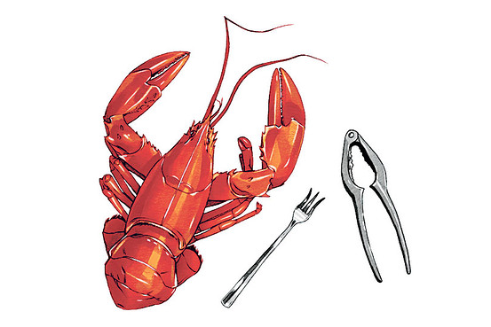 """How to Crack a Lobster"" The Wall Street Journal"