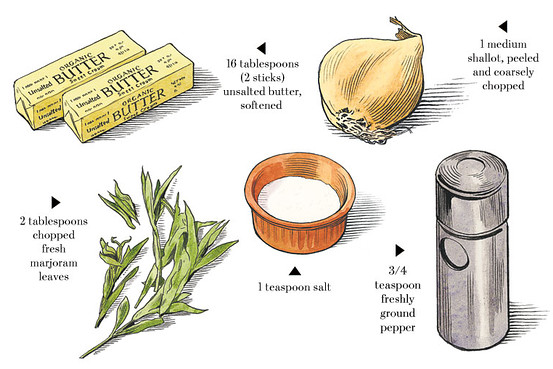 """How to Make Beurre Composé"" The Wall Street Journal"