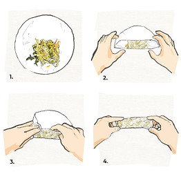 """How to Make Summer Rolls"" The Wall Street Journal"