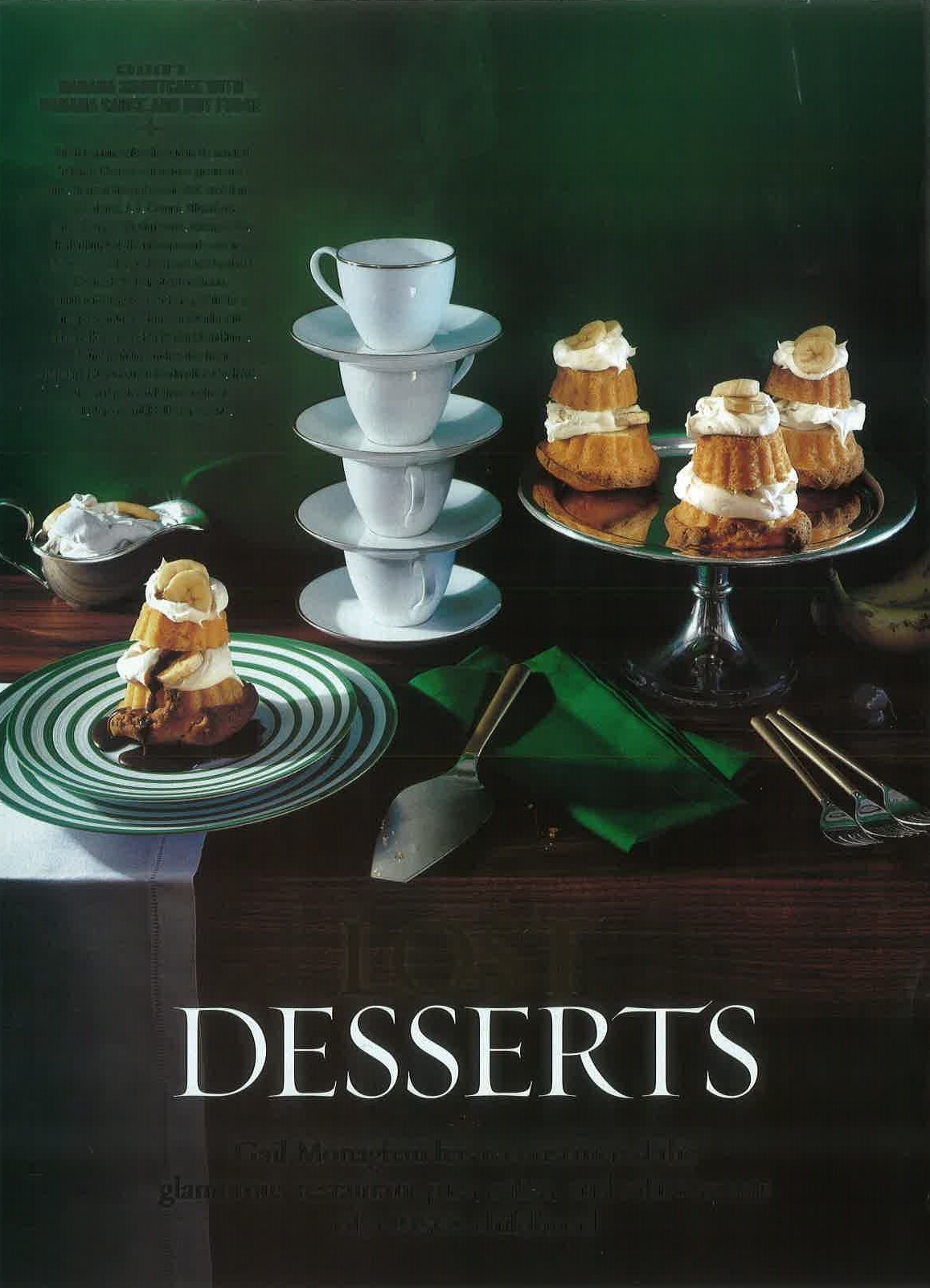 """""""Lost Desserts Part 1″ House And Garden"""