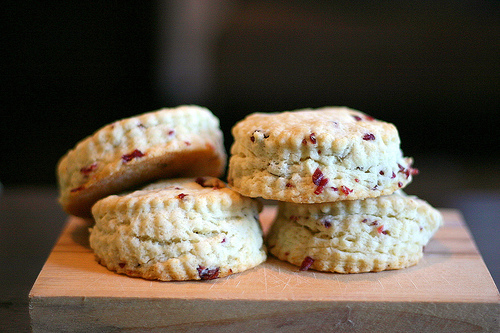 RAISIN CREAM SCONES - (plus variations)