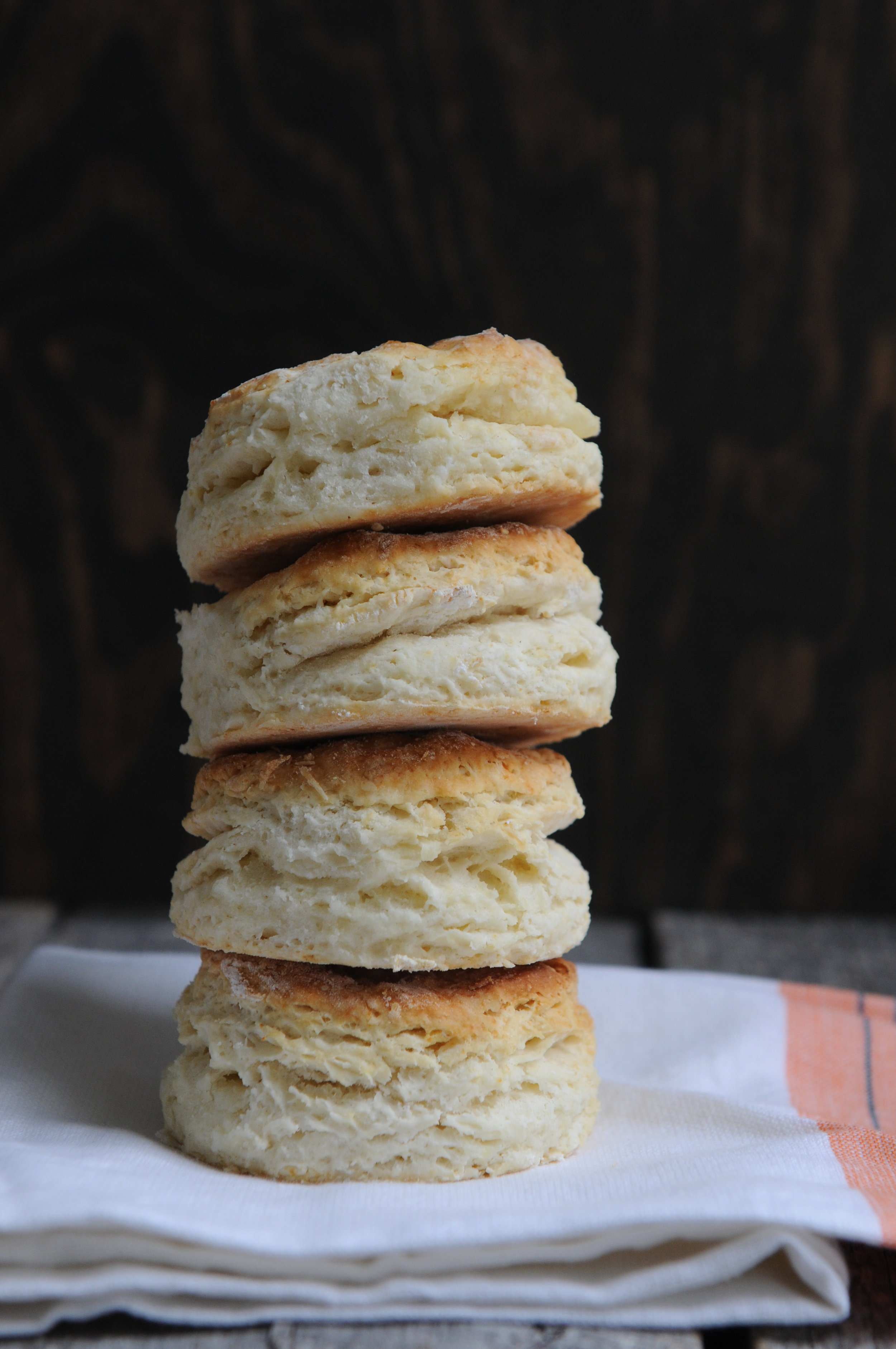 OVERSIZED CHEDDAR + CHIVE BISCUITS -