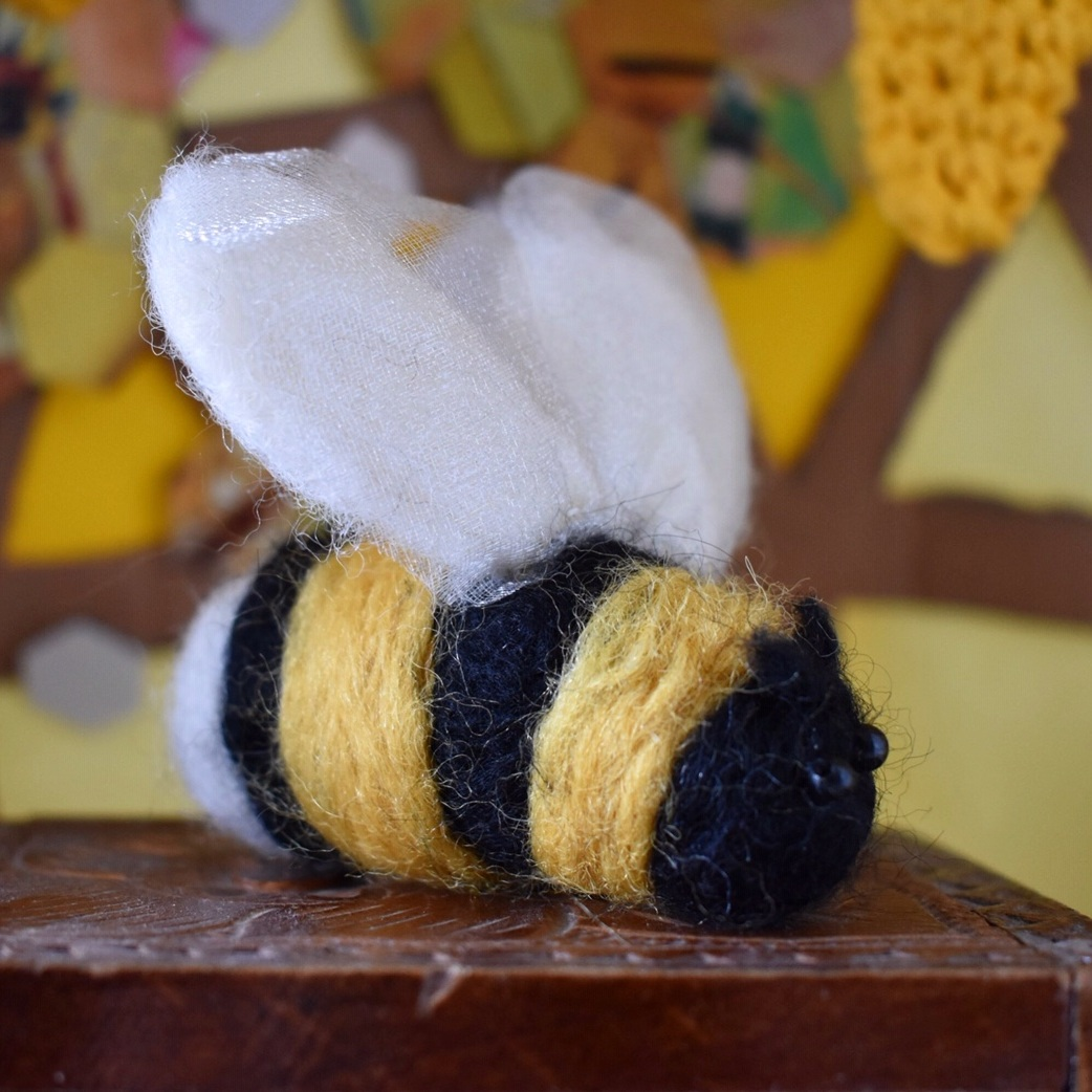 ARTWORK OPEN CALL   The Beehive began running it's artwork open call - if you'd like to make a bee to be shown in the hive,  click here