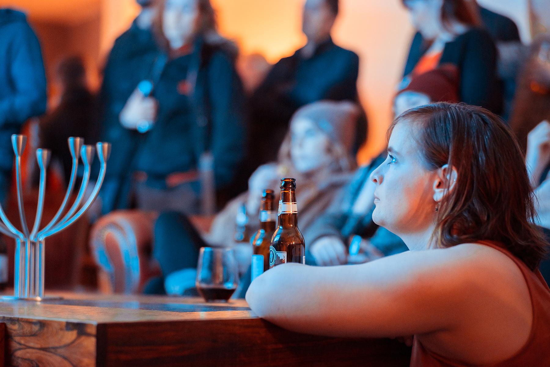 Photo by Patrik Ontkovic of guests enjoying LIVE GAMES LIVE MUSIC