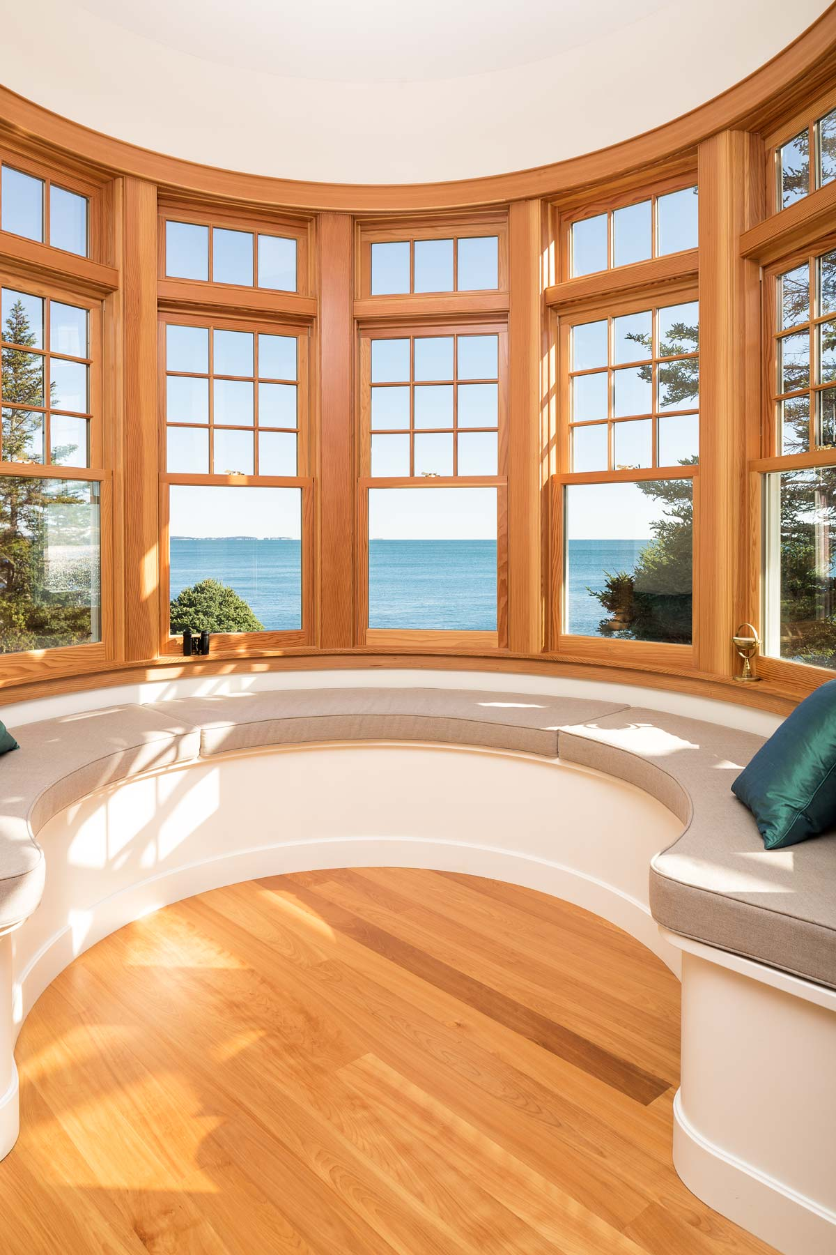 """Steve Smith's son, Justin, served as Project Architect on the home, completing the construction drawings and masterfully accommodating Dianne and Van's call for """"a view of the ocean in every room."""""""