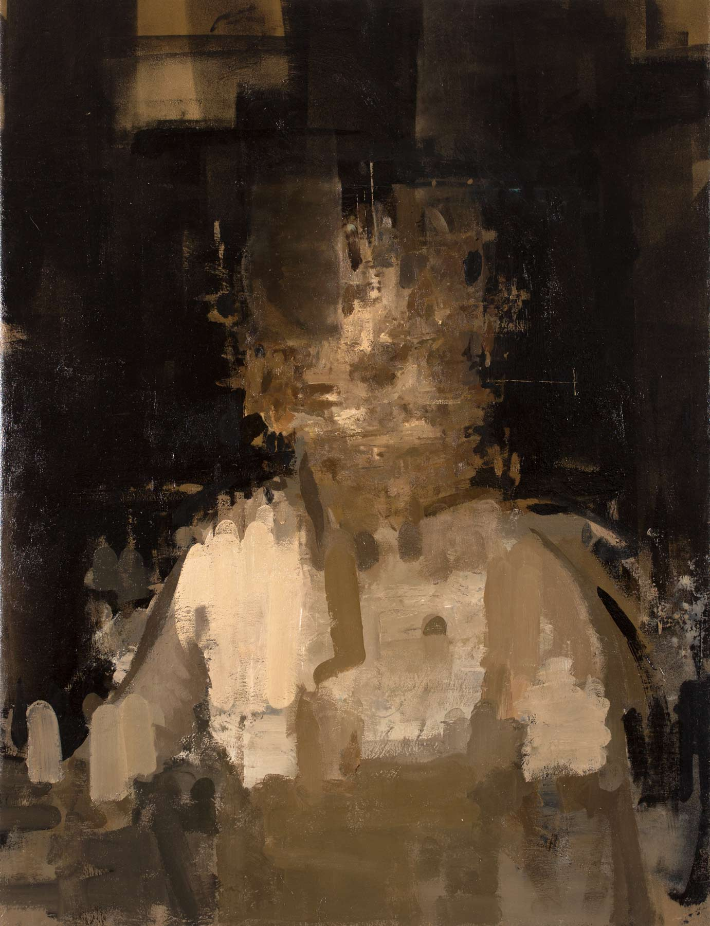 "Innes , 2015, oil on canvas, 36"" x 40"""