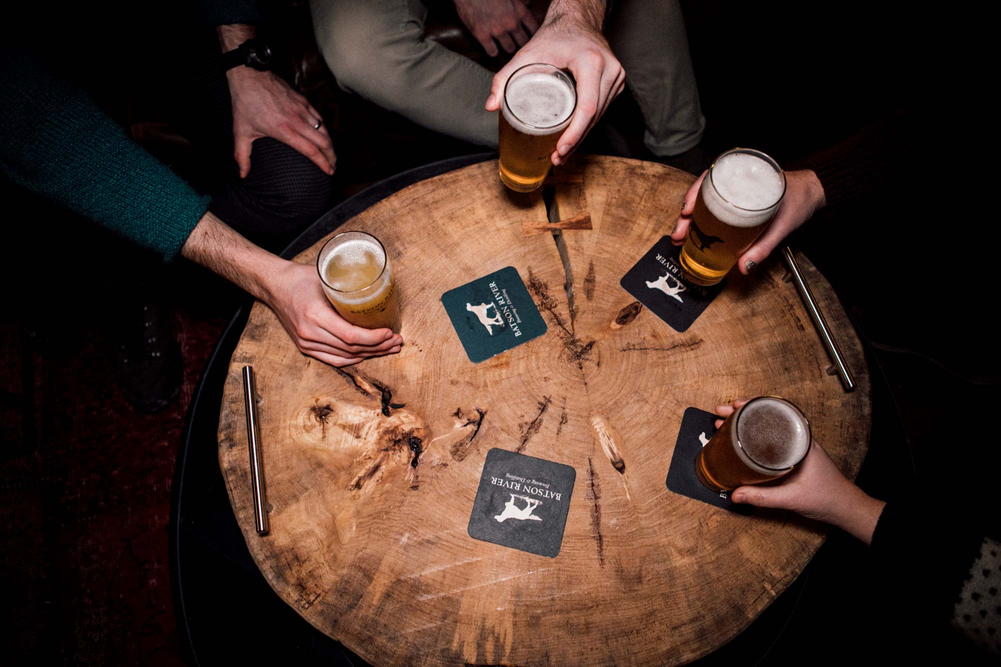 A round of brews by Wade Benker-Ritchey.