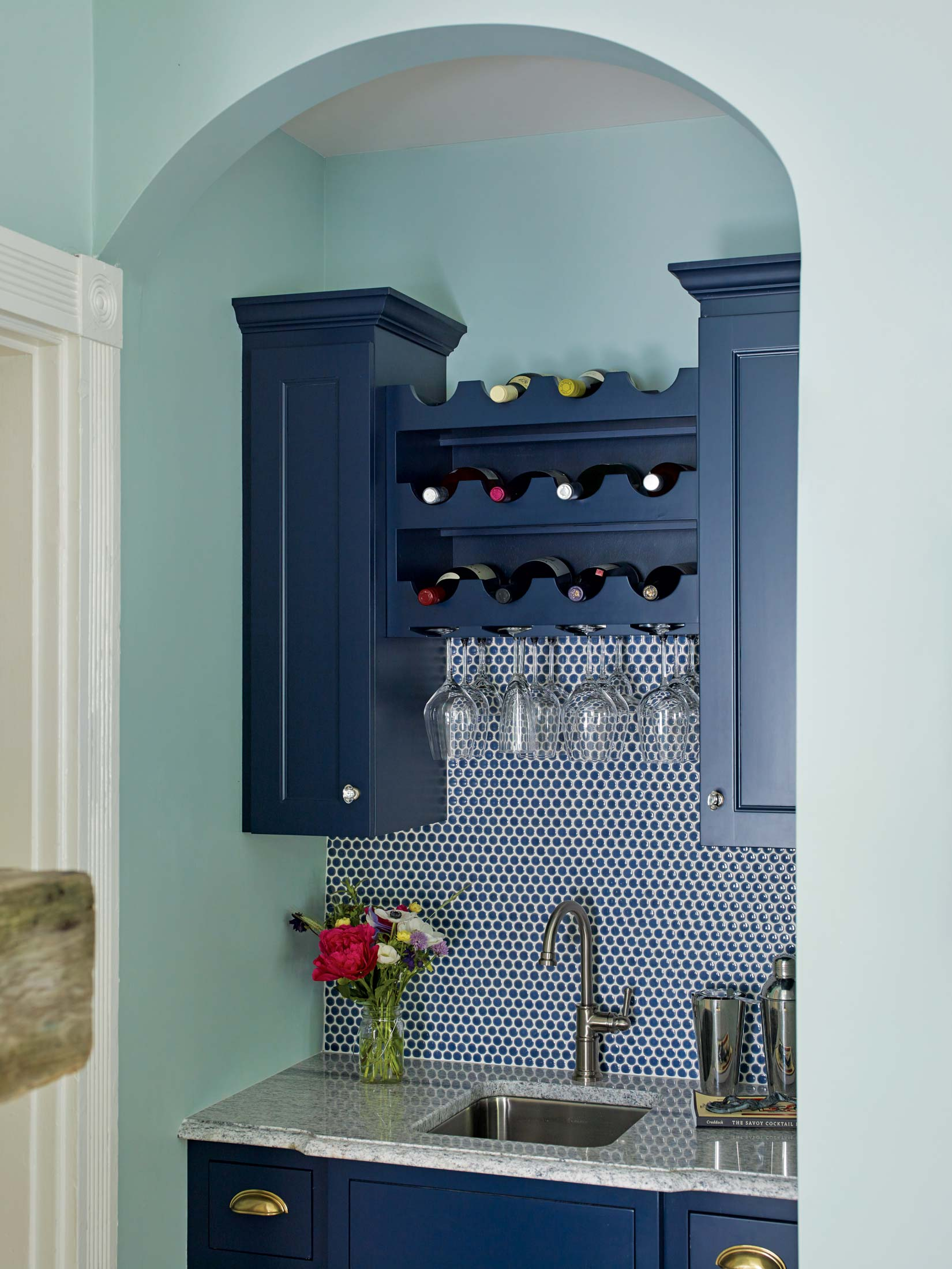 """Tracy: """"We chose tile throughout that suited the period [of the home's initial construction]."""""""