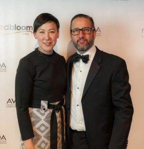 RedbBloom Salon owners Jodi Ohama & Troy Winget.