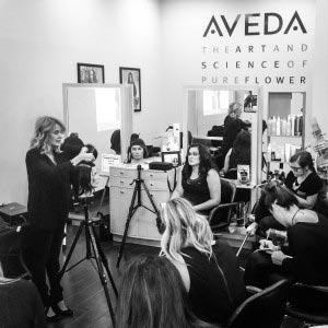 Susan Ford    Artistic Director of Asha Salon Spa in Chicago, Illinois; Aveda Freelance Guest Artist