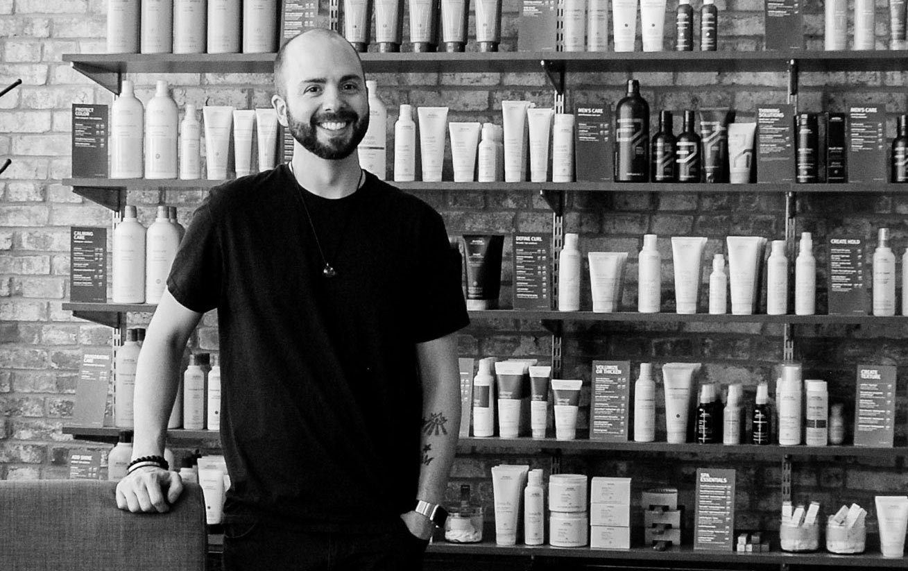 Charlie Martin, owner of Salon One Six One in St. Louis, MO. - Photo by Kris Dysert