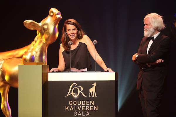 ROSANNE WINS FORUM VAN DE REGISSEURS AND KNF AWARD - Rosanne rocks the Netherlands Film Festival 2018! . On thursday she shares the first prize of the VEVAM Fonds Prijs van het Forum van de Regisseurs 2018! The next day at the Gouden Kalveren Gala she wins the KNF Prize, award of the Dutch Filmcritics.Rosanne rocks her 'thank you' speech! Please watch it here!