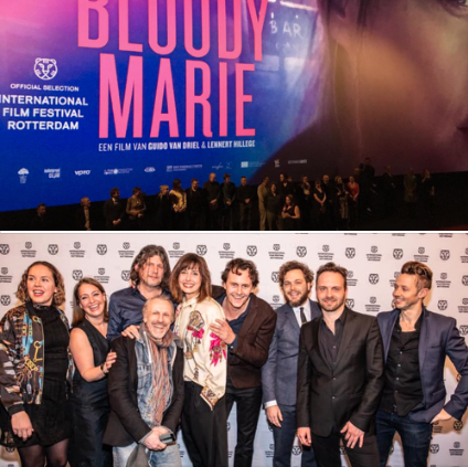 WORLDPREMIERE BLOODY MARIE AT INTERNATIONAL FILM FESTIVAL ROTTERDAM - Bloody Marie premiered at the International FilmFestival on the 27th of January 2019.