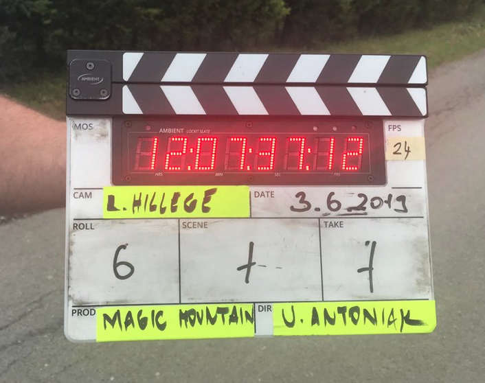 Urszula Antoniak new film Magic Mountains started shooting! - Cast & crew travelled to Slovakia for the shooting of Magic Mountains. The film will be shot in June and July in Slovakia and the Netherlands.