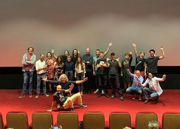 HUMAN NATURE PREMIERE - The crew of HUMAN NATURE (and the other Ultra-Kort teams of 2019) celebrated the successful premiere in Utrecht.Human Nature will be shown in Pathé cinema's all over Holland before The Goldfinch (John Crowley) starting from October 10th.