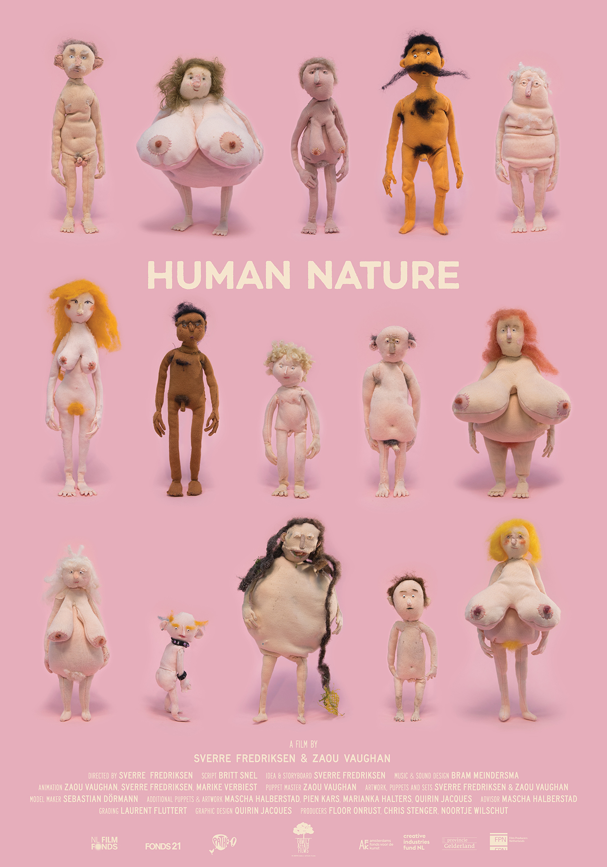 Very proud that we are selected for TIFF's Short Cuts Programme with HUMAN NATURE! - Big hooray together with director Sverre Fredriksen animator Zaou Vaughan and writer Britt Snel! This film is supported by Nederlands Filmfonds Fonds 21 PathéAmsterdams Fonds voor de Kunst Stimuleringsfonds Creatieve Industrie Provincie Gelderland Filmproducenten Nederland Thank you!!