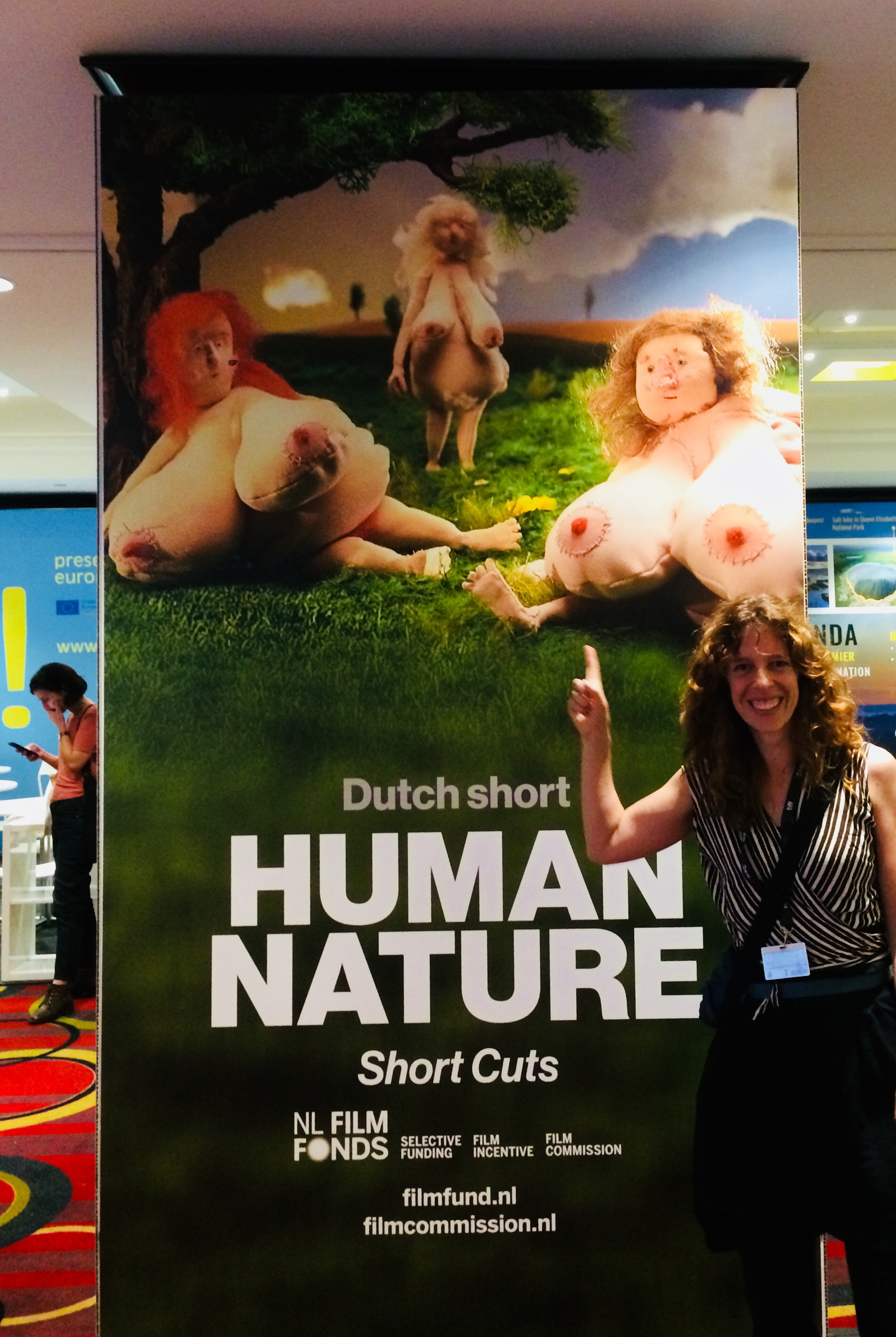 About last week: Zaou Vaughan at TIFF - Human Nature at the Short Cut's Programme