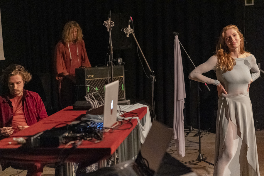 An evening with artists by the Dutch Filmfund - On the 10th of July our Luciënne Venner (Silent Heat) was part of a special program with various artists about research and experimental subjects in film. See the full article: https://www.filmfonds.nl/page/7636/makersavond-onderzoek-experiment