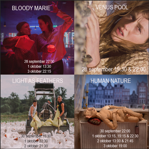 The Dutch Filmfestival (NFF) will start next Friday! - Come and buy tickets for our films via: https://www.filmfestival.nl