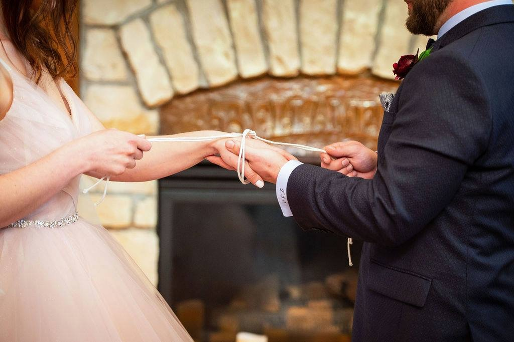 Handfasting Wedding Ceremony - a little bit of history, a little bit of you
