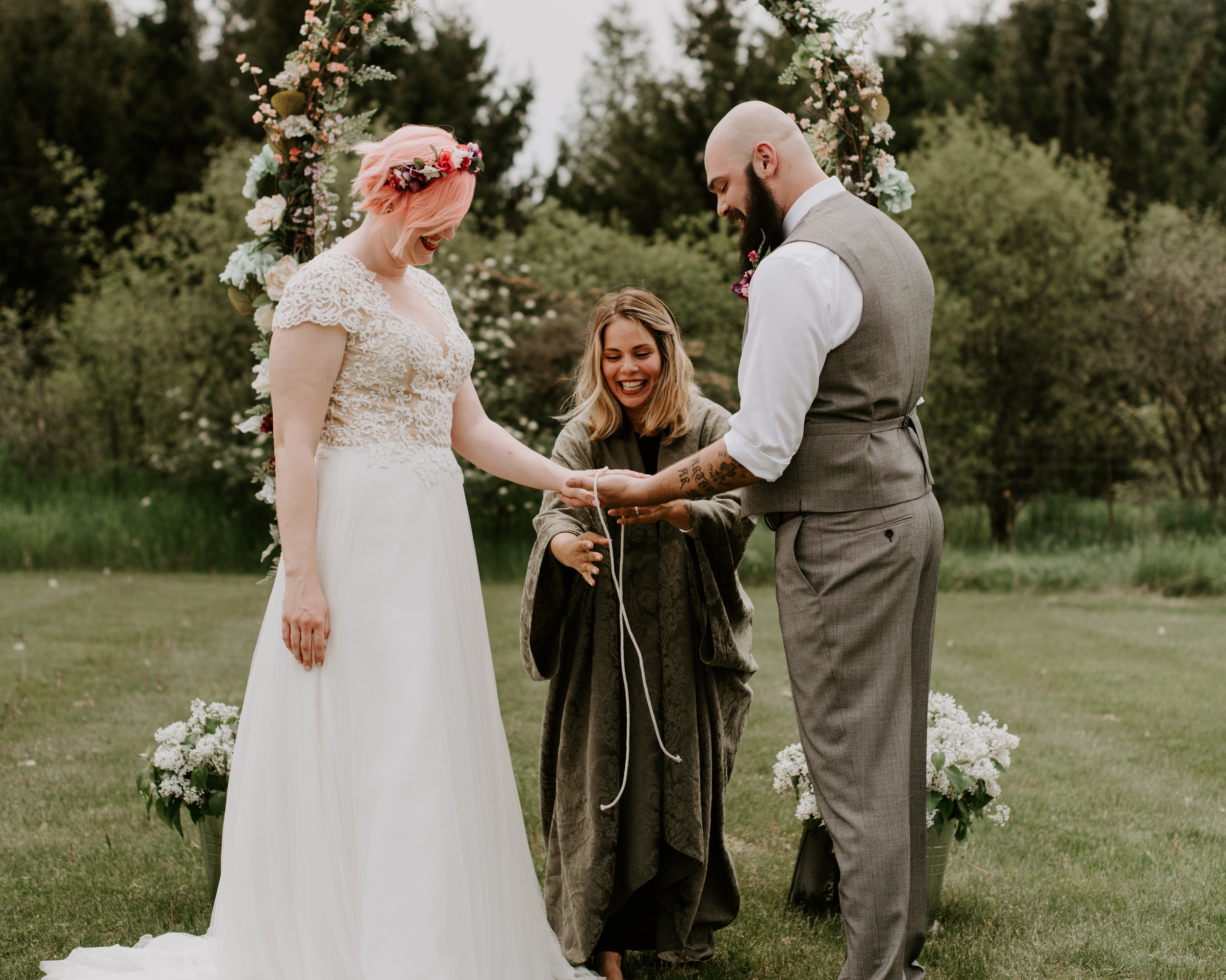 Handfasting Wedding Ceremony - Part Two