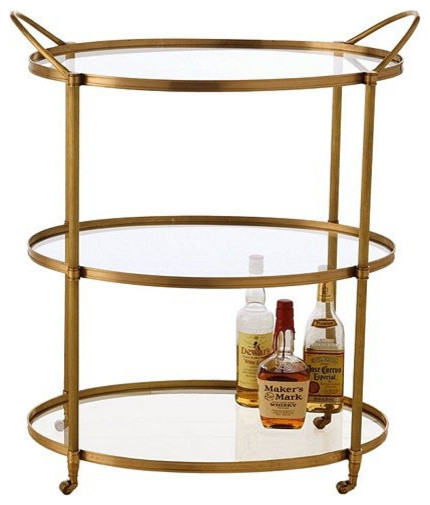 Arteriors Connaught Bar Cart