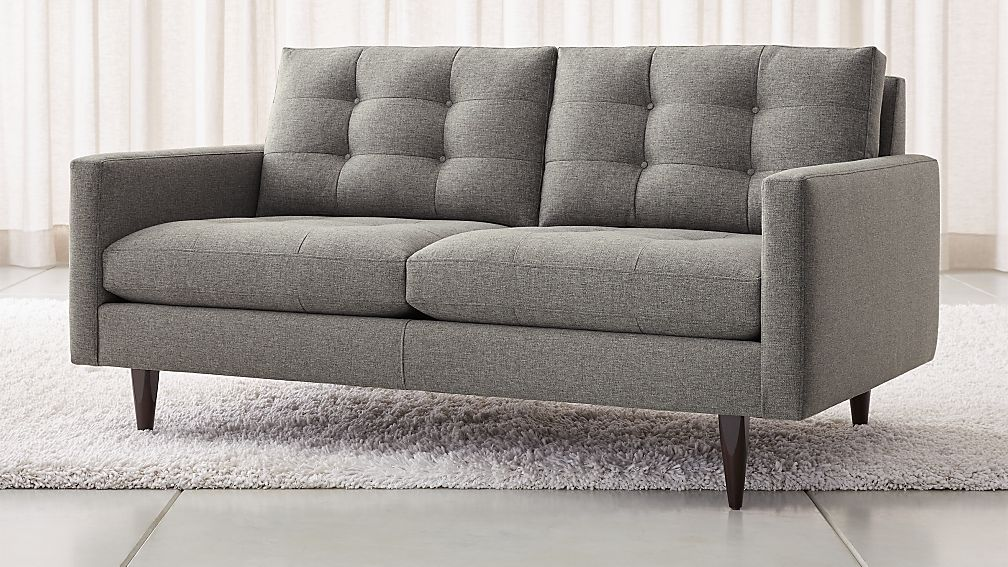 Crate and Barrel Petrie Loveseat