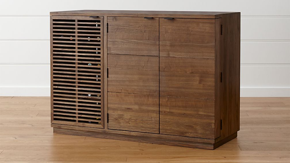 Crate and Barrel Marin Bar/Media Cabinet