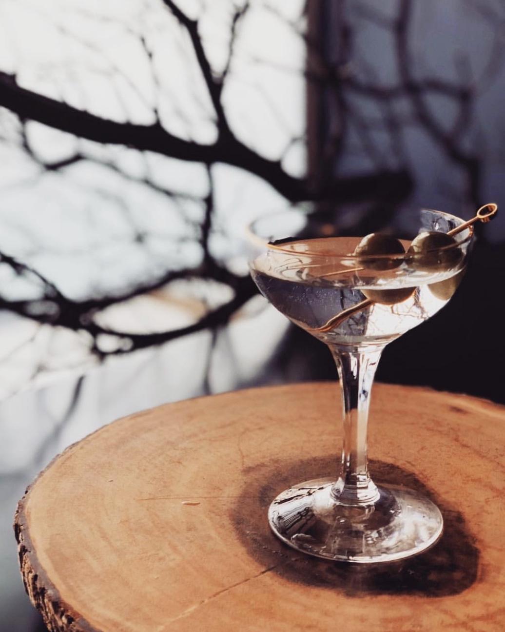 Sample Craft Cocktail Menu
