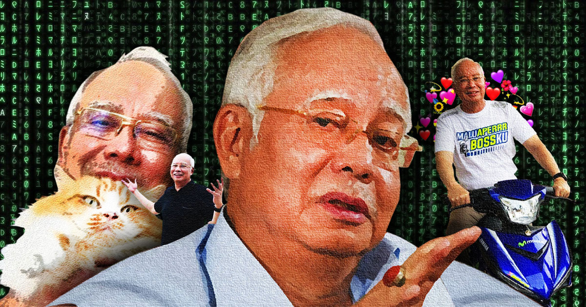 Najib's 4-Step Guide To Reinventing Yourself And The Art of Failing Upwards -