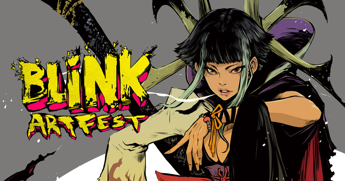 BLiNK-ArtFest-2019 - Art. Comics. Mayhem. • 7th-8th Dec 2019 Venue: The Substation • SingaporeSINGAPLEX is proud to be the media partner for the BLiNK-Art Fest 2019 - A Complementary Satellite Art Fest for Global & Local Collectors looking to maximise their time in Singapore during the end of year Geek Convention Season.