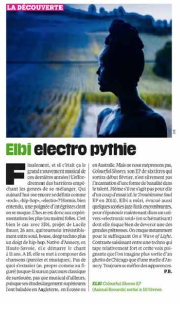 Journal Libération, 2017
