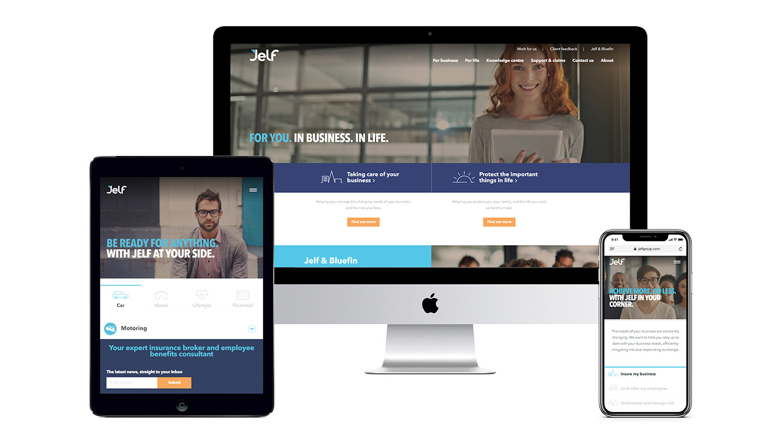The new responsive site at launch, February 2018. This marked the end of phase 1 of the digital transformation programme.