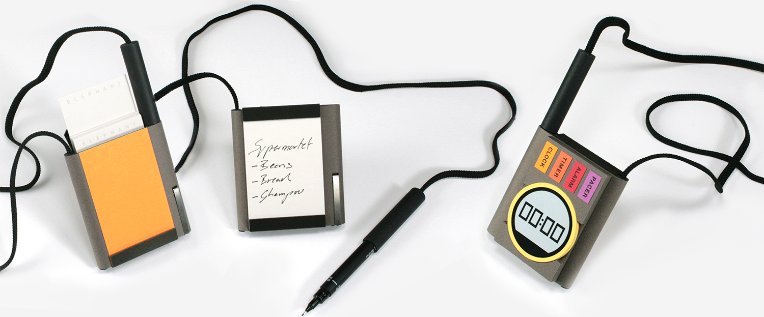 Whilst paper notes are easily lost or crumpled, this universal card system is more memorable, retainable and tactile. Notes can be carried using a personal device and jotted down wherever and whenever thoughts occur. A simple, intuitive timer allows sufferers to take further control by using their own subtle reminders and pacers