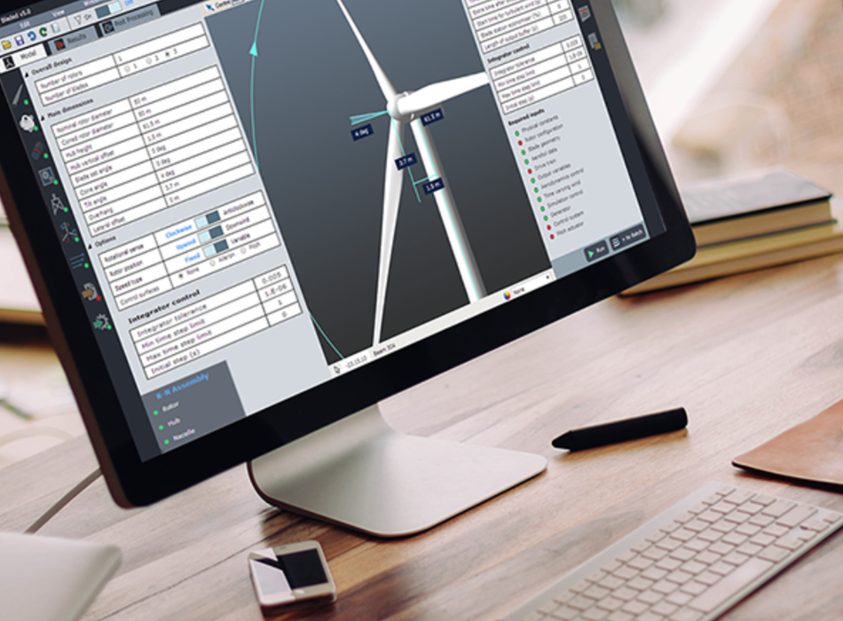 Bladed:  Wind turbine design application