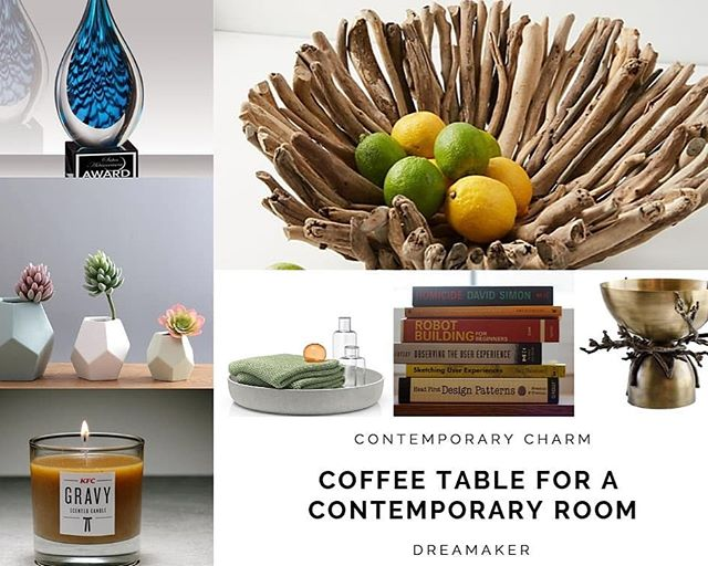 Drop your email to receive the tutorial... 2 Super Easy Ways To Style Your Coffee Table