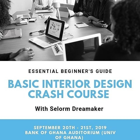 Hello All,  I am inviting you to my next interior design crash course for all designers and design enthusiasts... - INTRODUCTION TO INTERIOR DESIGN STYLES & - COLOR PSYCHOLOGY FOR INTERIOR DESIGNERS.  In these two classes, I will focus more on describing the most common interior design styles together with their easily identifiable features as an aide to guide you in choosing your design direction and how to apply them and then also help you discover both theoretical and practical skills you will need when creating a color scheme for any space.  When: Fri 20th and 21st Sept  Where: Bank of Ghana Auditorium, University of Ghana  Fee: each class comes with a fee of Ghc200 (but you can attend both classes for Ghc350 instead of Ghc400)  Register or get more details here:  https://www.gibaluxeinteriores.com/trainings  Please direct any questions and enquiries to: admin@gibaluxeinteriores.com  02771142749, 0552528518  Don't be left out... Tell a friend to tell another friend to also tell a friend ☺  Thank You, Selorm Dreamaker. @selorm_dreamaker