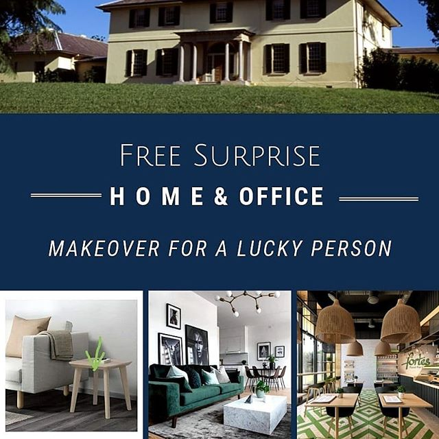OK ok.... This is new!! 😊🤸‍♀😍 My birthday present to that special, loyal person. 🎁 🎊  As part of my birthday this year, I want to surprise someone with a free home or office makeover.  I'll put out more details shortly.  And oh, T&C apply