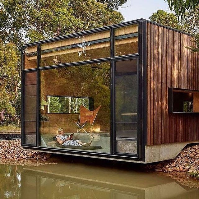 Container houses have become a cheaper alternative to housing and gradually springing up in our part of the world?  Would you consider it?  #modernarchitecture #containerhouse