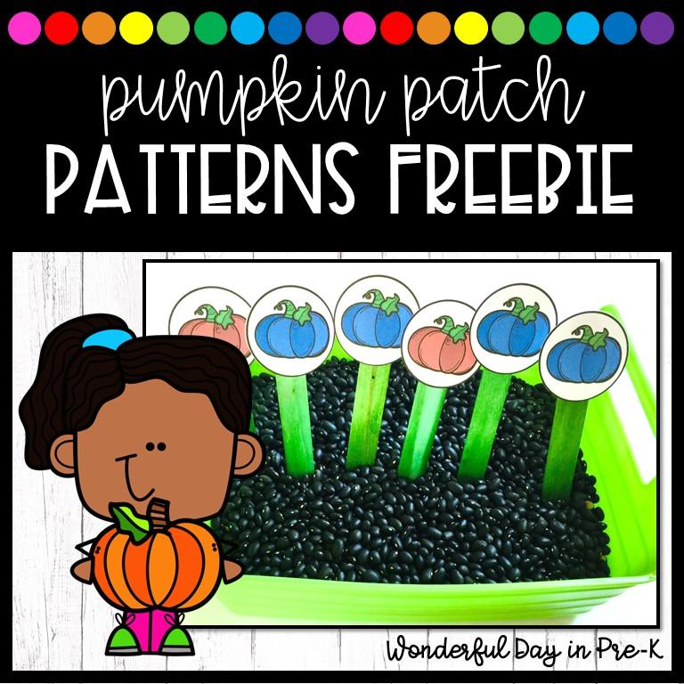 Pumpkin Patch Patterns  from @wonderful.day.in.prek