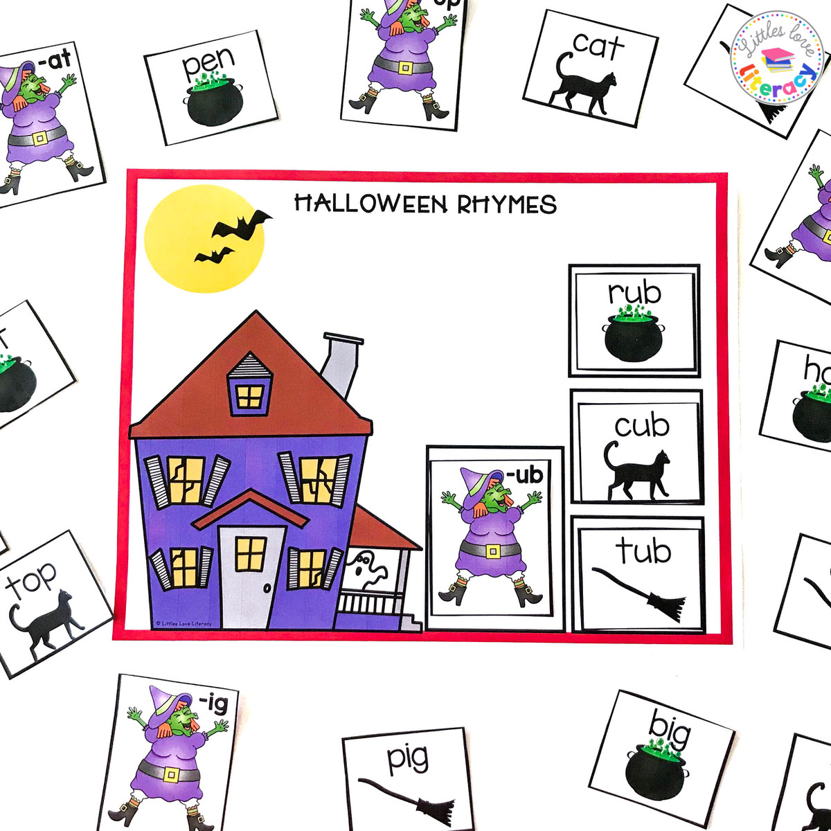 Halloween Rhymes  from @littles.love.literacy