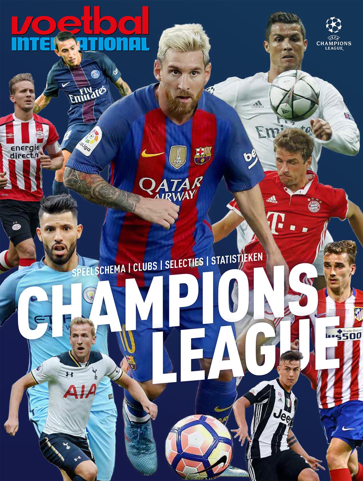 Cover bijlage Champions League