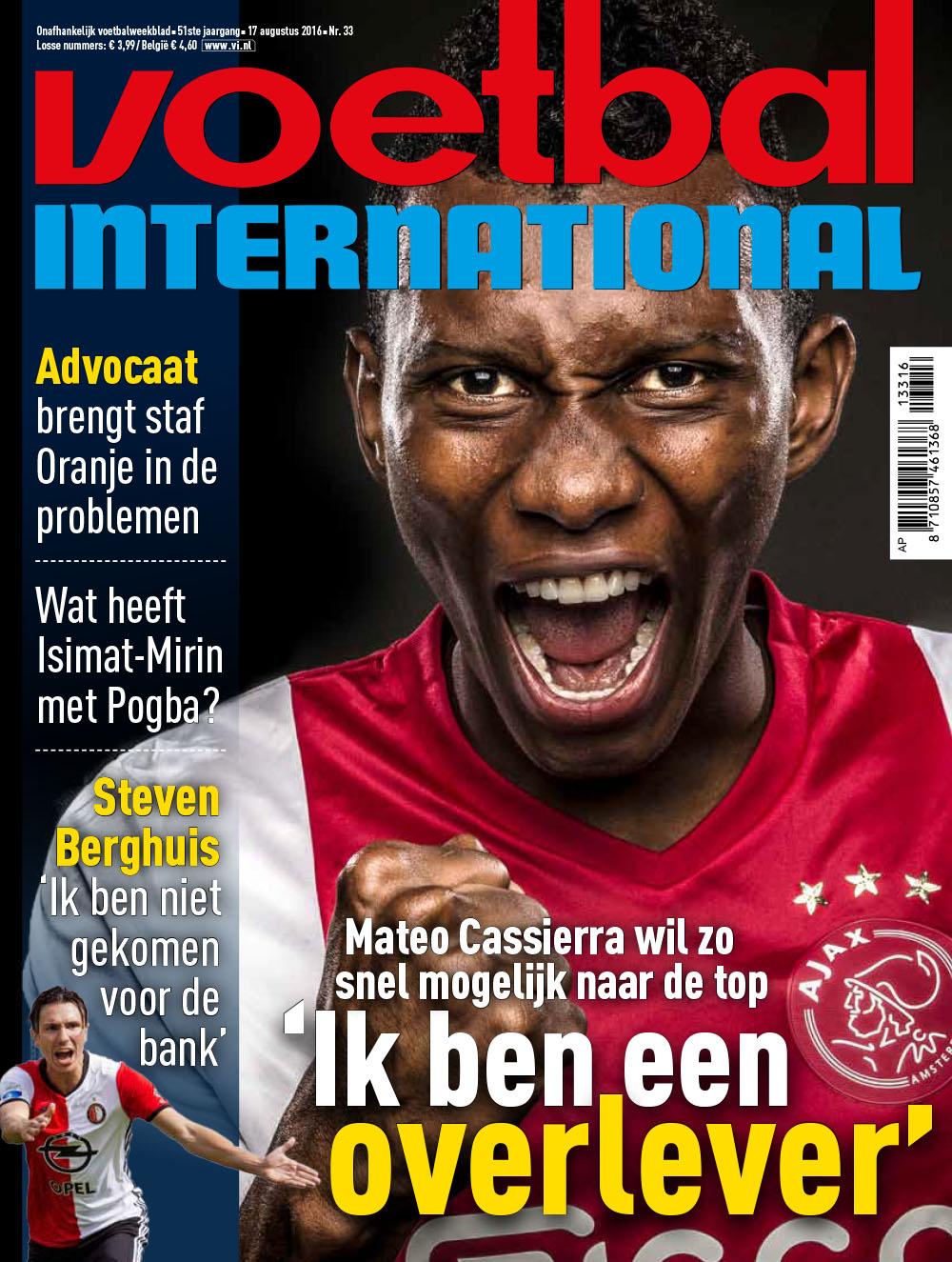 Cover VI 33-2016 - Amsterdam