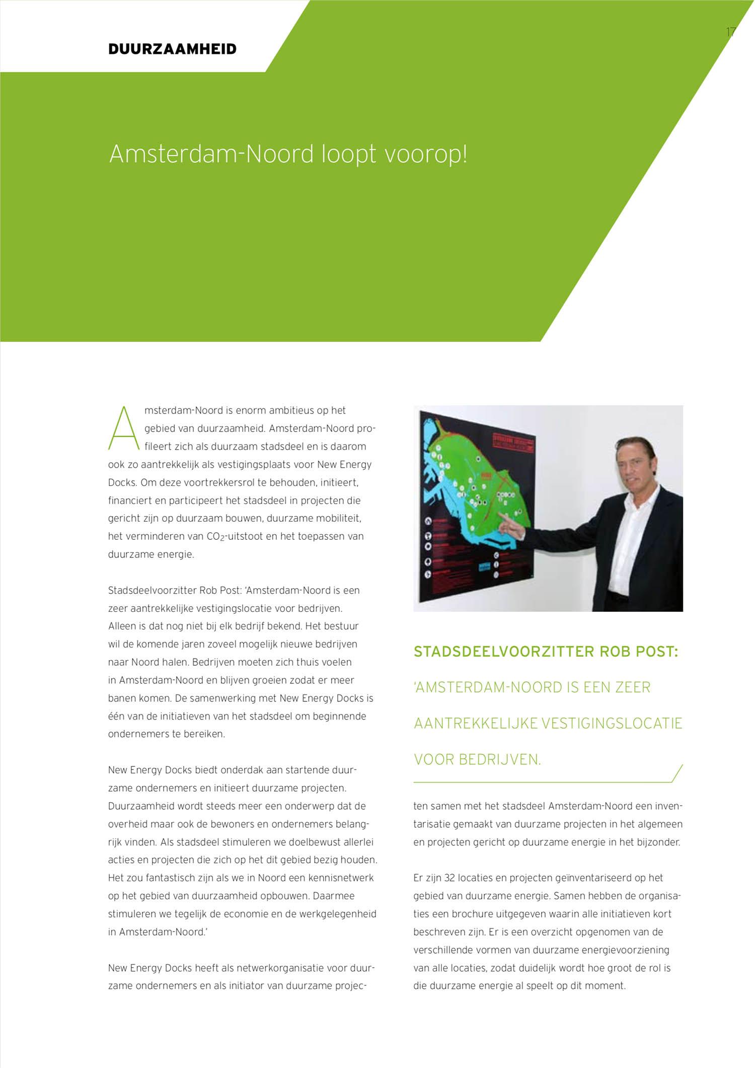 Pagina jaarverslag New Energy Docks