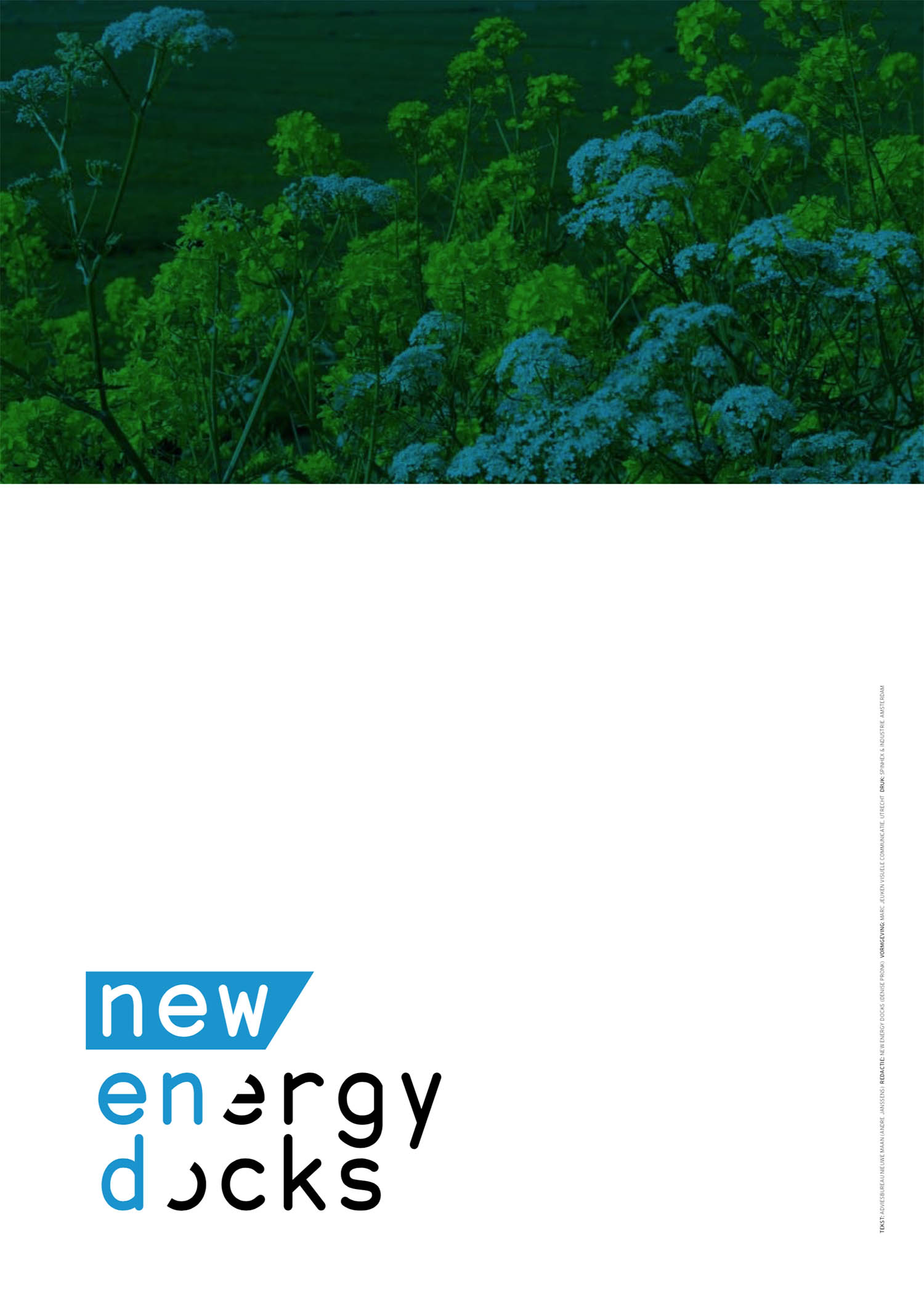Cover jaarverslag New Energy Docks (achterzijde)